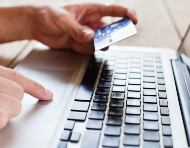 Man paying online, Depositphotos